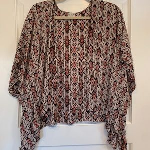 Brandy Melville Open Front Tunic